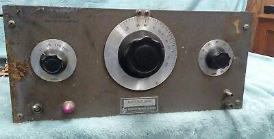 Vintage Hewlett Packard 200c Audio Oscillator Ham Estate All Tubes Good D600