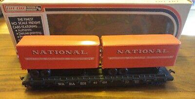 Ho Scale Wabash National Semi Trailer Hauler Train Car Life Like