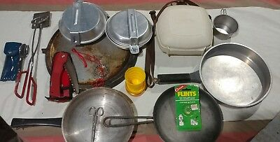[LOT] Assortment of Survival Gear & Camping Equipment Supplies boy scouts  Ect..