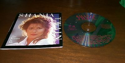 Shania Twain The Woman In Me CD Pop Country Music Is There Life After Love Win ()