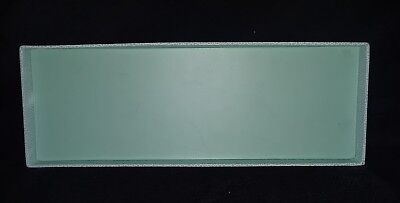 Martha Stewart Home Office Avery Turquoise Stack Fit Shagreen Tray 13267