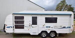 2005 FRANKLIN G2 21'6 FULL ENSUITE SEMI OFF ROAD CARAVAN Gympie Gympie Area Preview