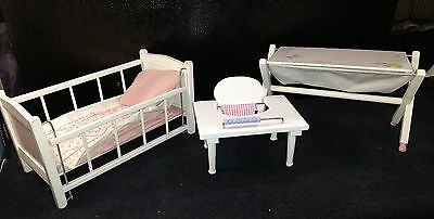 Vintage Vogue Ginnette LOT* Baby bed, Tender, Baby Bath*