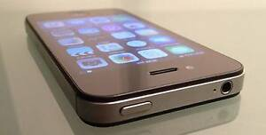 Apple-iPhone-4S-16GB-Black-UNLOCKED to all networks & i-Cloud Gungahlin Gungahlin Area Preview