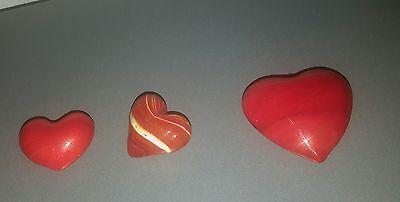 Glasherzen klein 3 Stück