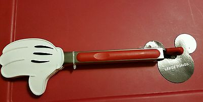 Disney Parks Mickey Mouse White Glove Tongs kitchen utensil large tong new