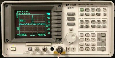 Hp 8592l Spectrum Analyzer 9khz - 22 Ghz  26.5 Ghz Calibrated With Warranty