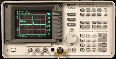 Hp 8592l Spectrum Analyzer 9khz - 22 Ghz  26.5 Ghz Calibrated With Warranty