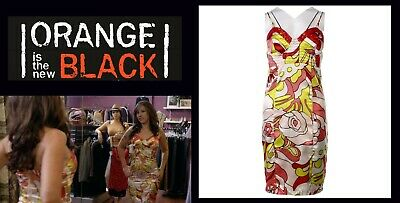 OITNB Aleida Elizabeth Rodriguez Screen Worn Dress Ep 410 w/Studio COA