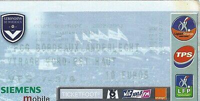 Ticket: Bordeaux - Anderlecht UEFA (28-11-02)