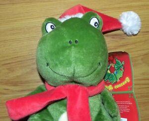 BRAND NEW Christmas Frog / Penguin stuffed animal/plush toys