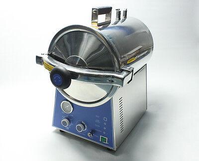 Tm-t24j Desktop Fast Pressurized Steam Sterilizer 24l Sterilizing Machine 220v
