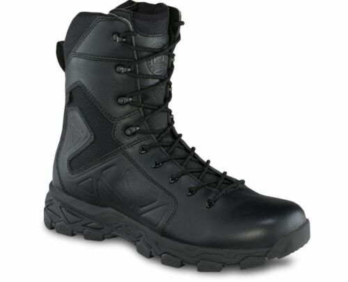 Irish Setter RAVINE TACTICAL 832 Mens Black Waterproof Side Zip/Lace Up Boots