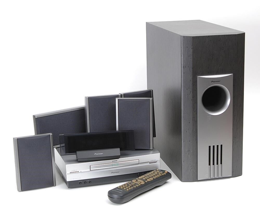pioneer xv dv55 5 1 home cinema system in norwich norfolk gumtree. Black Bedroom Furniture Sets. Home Design Ideas
