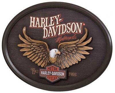 Harley-Davidson® Eagle Bar & Shield Eagle Pub Wall Pub Sign (16x22) HDL-15317
