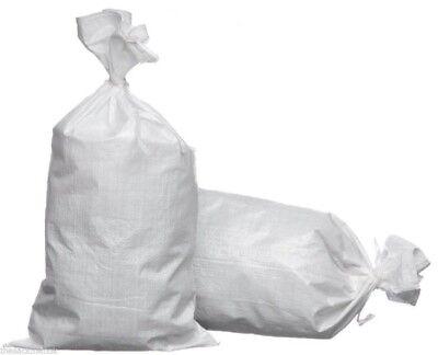 25 Extra Large Woven Polypropylene WPP Sacks Strong Rubble Bags Size 65x103cm XL