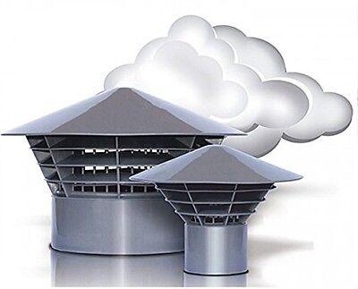 Entlüftungshaube Dunsthut Dachentlüfter Univent DN 110  110mm auf Rohr