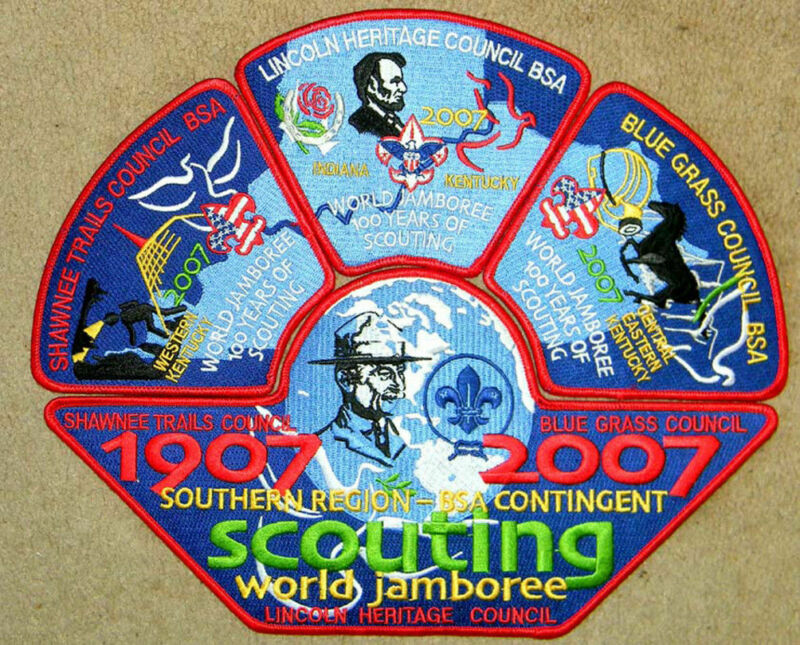 Southern Region Joint 2007 WJ Joint Contingent Set - Mint