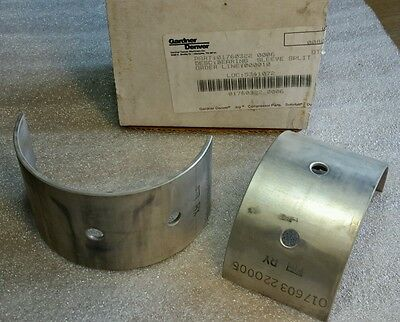 Gardner Denver 01760322 Bearing Sleeve Split Joy Compressor New 499