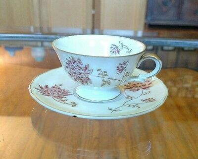 Vintage Made In Occupied Japan Teacup And Saucer