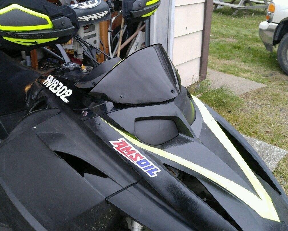 Low Gloss Black Windshield Fits Ski-Doo Rev ~ 213 Parts