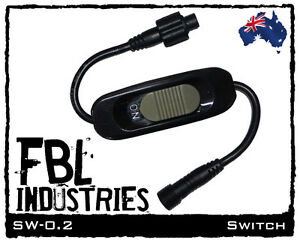 FBL-0-2m-LED-strip-light-SWITCH-lead-12v-camping-boat-caravan-high-power-lights