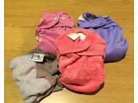 3 reusable nappy bundle