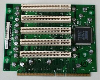 Vintage 5 Slot PCI Riser Board / Card 630-2208 9650TDII 820-0852-A DIGITAL Rare