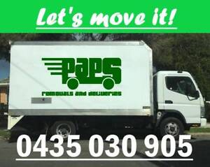 Small-big house moves, pickup, deliveries, removals, hard rubbish