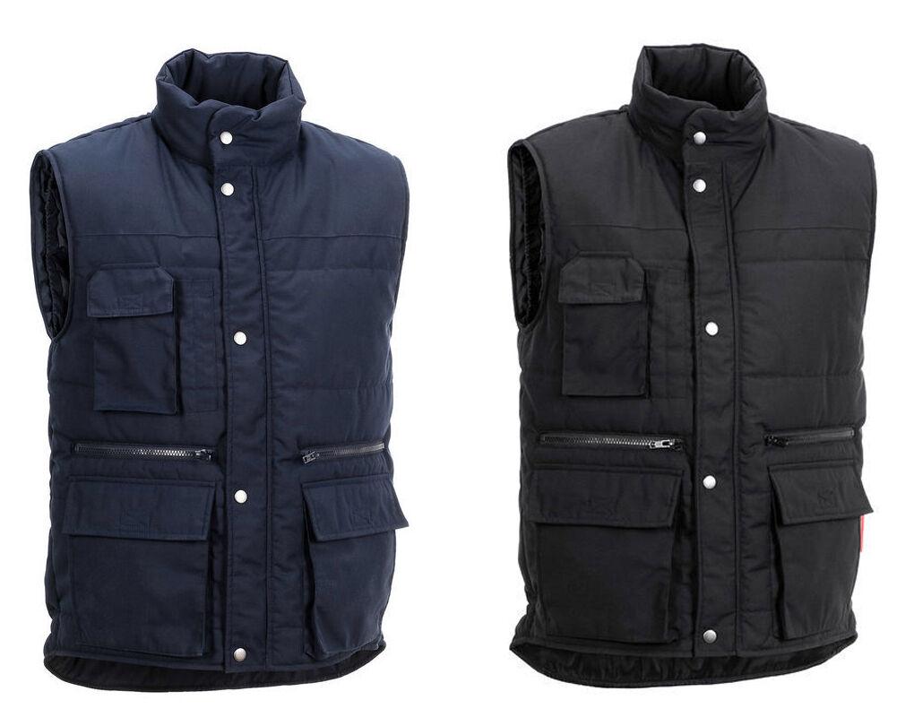 Planam Arbeitsweste Weste Turbo Herren Winter XS-8XL Winter Workwear Outdoor