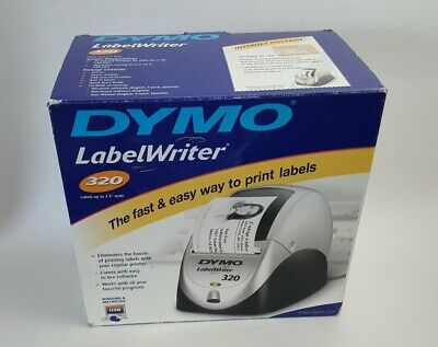 Dymo Labelwriter 320 Label Thermal Printer For Windows Mac New Free Shipping