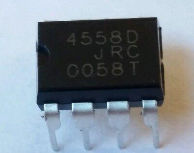 8 Pcs Jrc4558d Audio Low Noice Op-amp Replaces Lm4558 Rc4558usa Seller