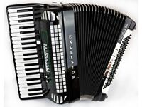 Excelsior 911 MIDIVOX II - Hand Made Reeds - 4 Voice Musette - 120 Bass Accordion