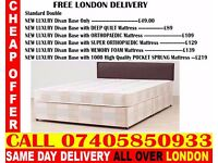 BRAND NEW Double King Size Single Bed With Mattress. Leon