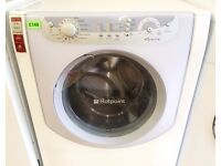 Hotpoint AQUALTIS White 7.5KG 1200 A+ SUPER SILENT Washer + 3 Months Guarantee + FREE LOCAL DELIVERY