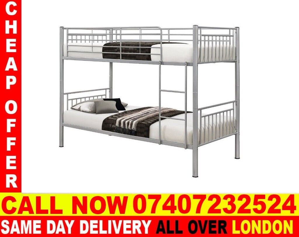 Best Quality Single Metal Bunk Bed Frame And Mattress Magnet In