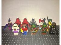Genuine Lego Batman & Series 16 Mini figures
