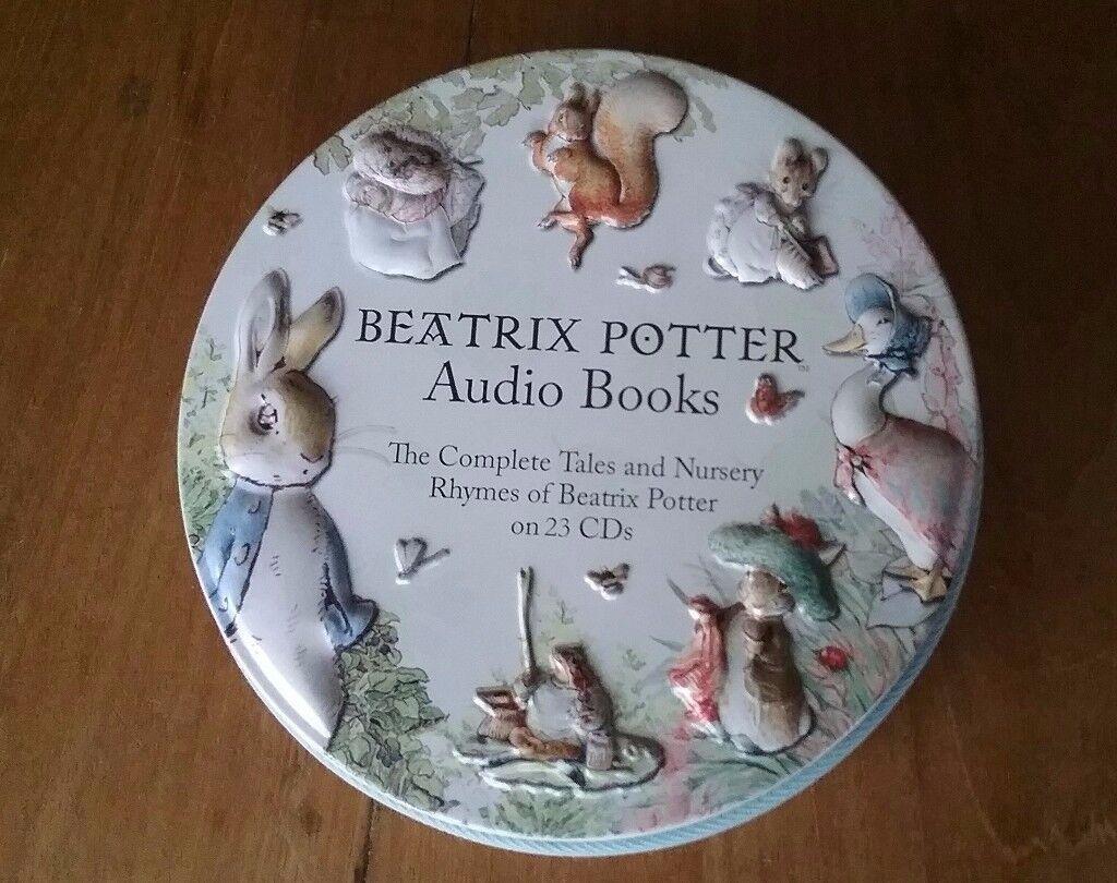 Beatrix Potter Audio Book CD Set HELD FOR PAUL