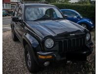 Jeep Cherokee 3.7 V6 petrol AUTO. 12mth MOT with no advisories.