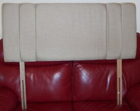 Headboard for 4ft small double bed.