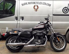 DEPOSIT RECEIVED SUPERB 2006 HARLEY DAVIDSON XL883R ROADSTER ONLY 6510 MILES V.G.C.