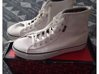Vans white brand new (hi-top)