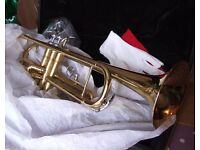 STUDENT STARTER TRUMPET AS NEW STILL BOXED