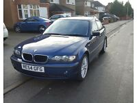 BMW 3 SERIES 2.0 318i SE AUTO 4dr Petrol BLUE 2004 WITH SERViCE HISTORY from BMW Dealer.