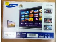 "Samsung 22"" Full HD LED Smart TV with Wi-Fi & Freeview HD"
