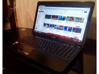 Laptop for sale. Dual core, 4GB RAM, 500GB HDD, Webcam