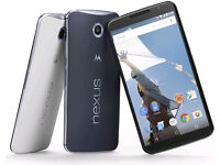 Motorola nexus 6 32gb (unlocked)(Excellent Condition).