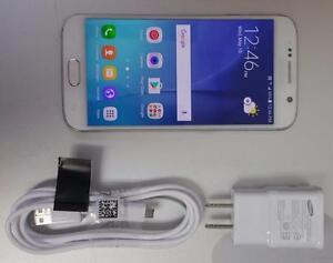 Samsung Galaxy S6 32GB White SM-G920W8 Unlocked LTE AWS 30 Days Warranty