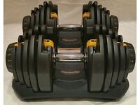 New Adjustable Dumbbells Weights 80kg Dumbells Power Block Weights Not 1090 Bowflex CAN POST