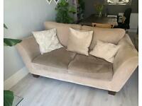 2 sofas handmade 2-3 seater, 3-4 seater